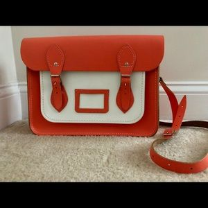 Cambridge Satchel Company Bag - Coral/Orange